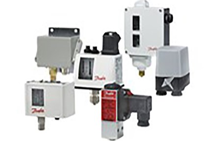 Pressure switches for industrial hydraulics