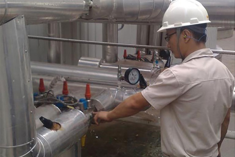 Danfoss ICF valve stations caused energy savings at new budweiser china plant