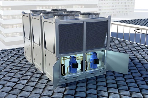 Heat pumps for air conditioning | Energy-efficient