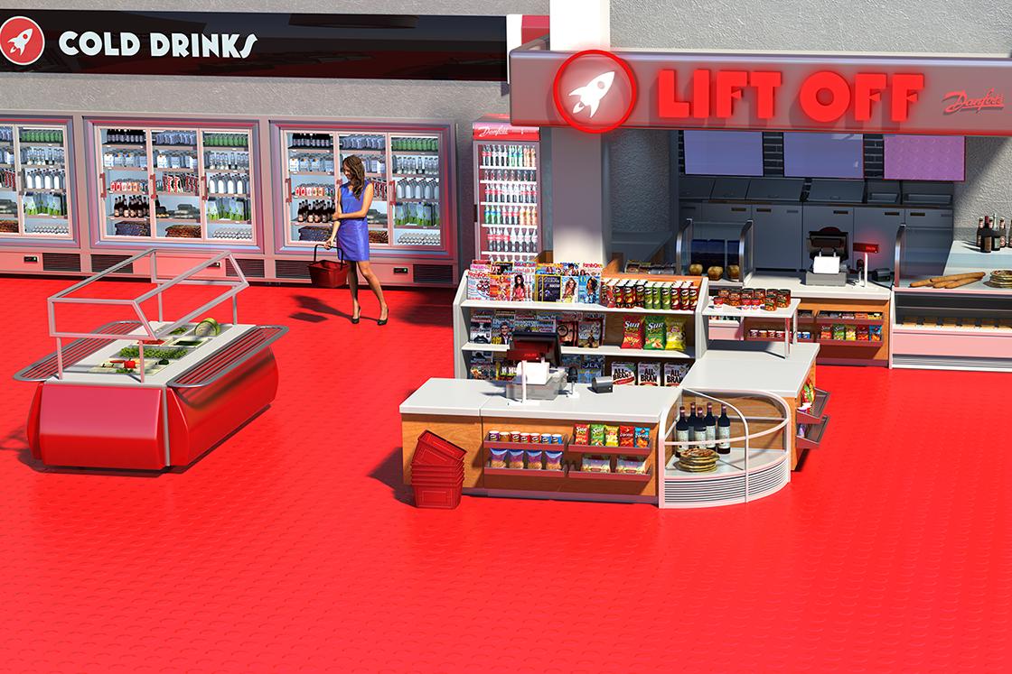 Soluciones de Danfoss para la refrigeración comercial | Tiendas de conveniencia