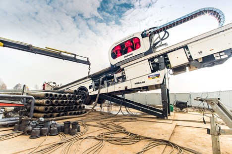 World's first hybrid-electric horizontal drill halves fuel consumption