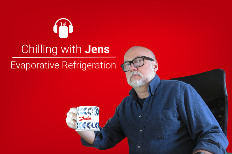 Chilling with Jens: Evaporative refrigeration
