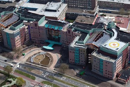 Large scale hospital in the Netherlands protected with SEM-SAFE®
