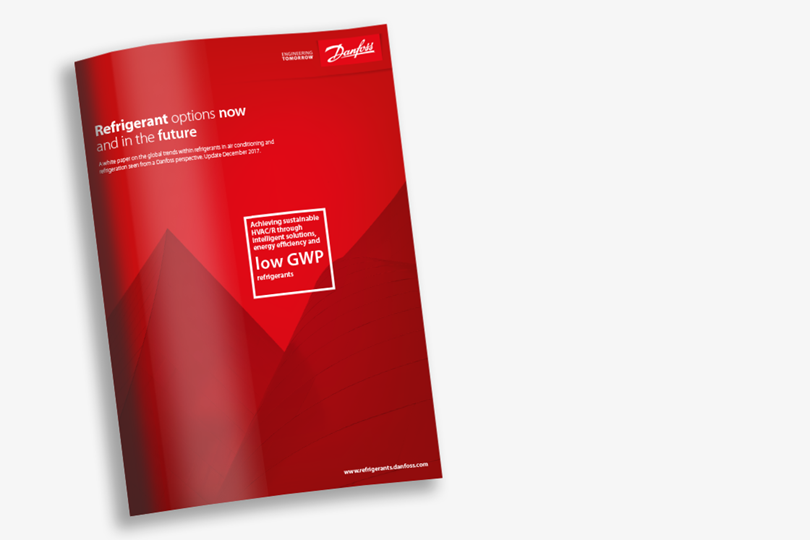 Danfoss whitepaper - Refrigerant options, now and in the future