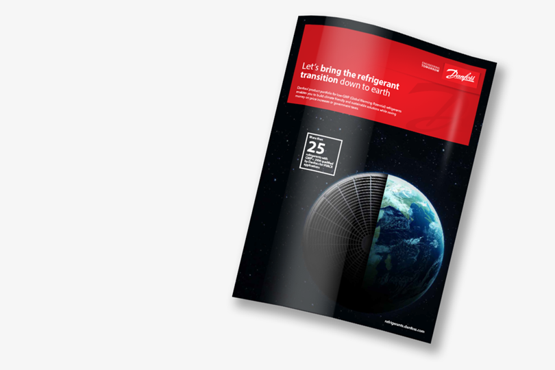 Danfoss low-GWP brochure - A wide portfolio for lower GWP refrigerants