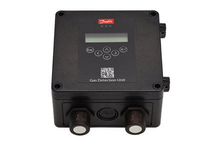 Gas detection for industrial refrigeration Danfoss