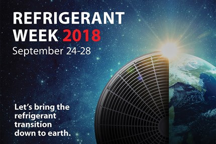 We are back! To share hands-on expertise during Refrigerant Week 2018 - Danfoss