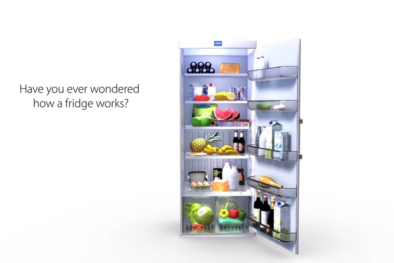 The fridge - Danfoss