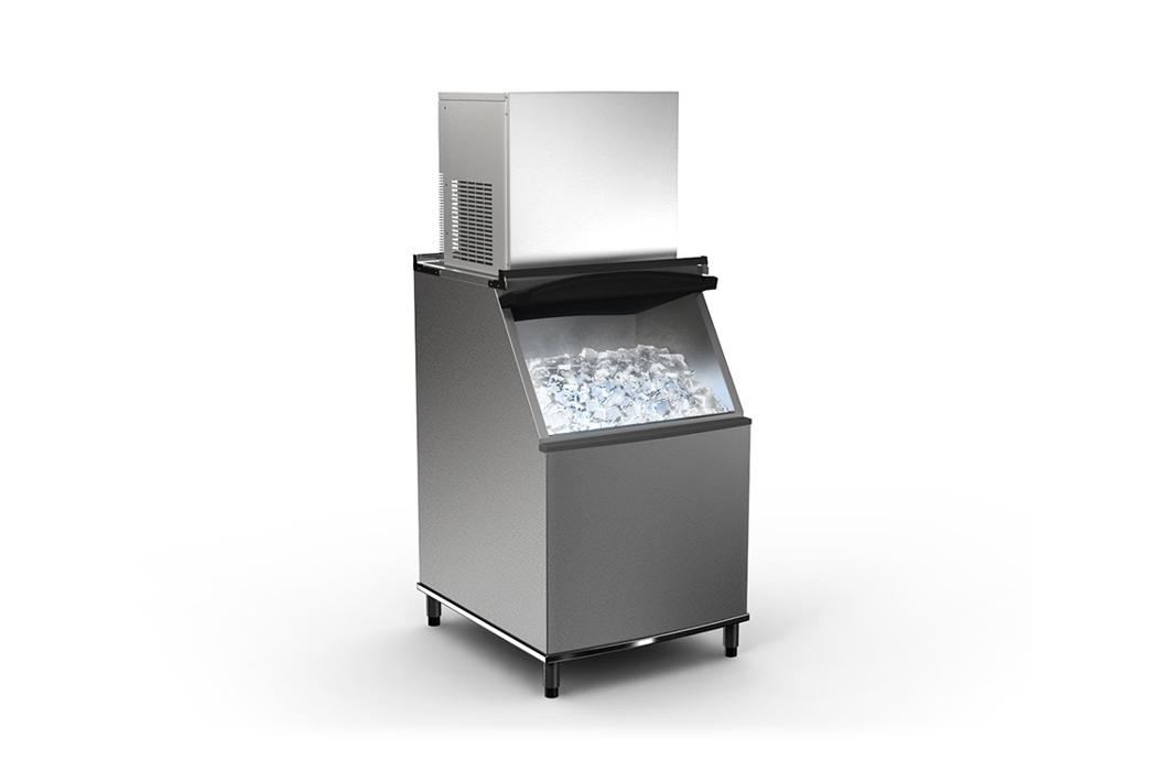 Máquinas de producción de hielo comercial - Soluciones de Danfoss para refrigeración comercial