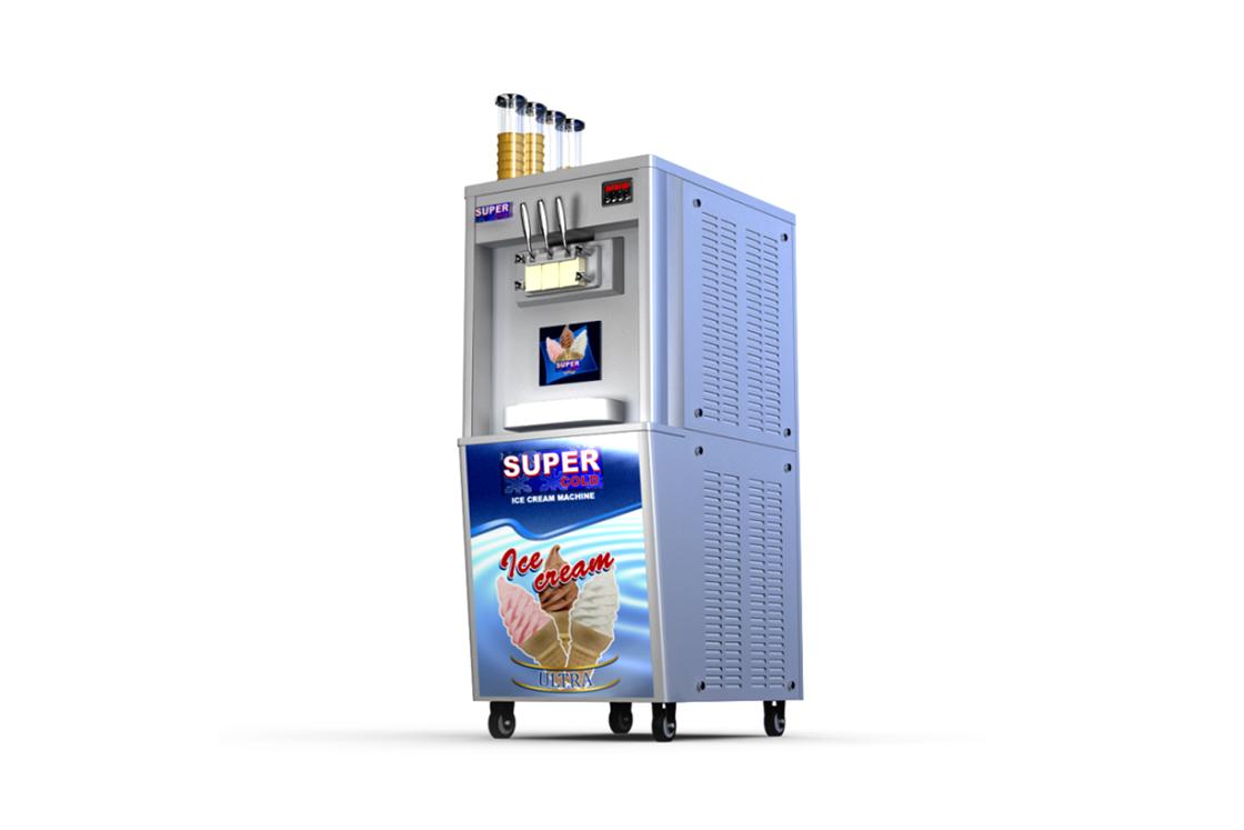 Máquinas comerciales para hacer helados - Soluciones de Danfoss para refrigeración comercial