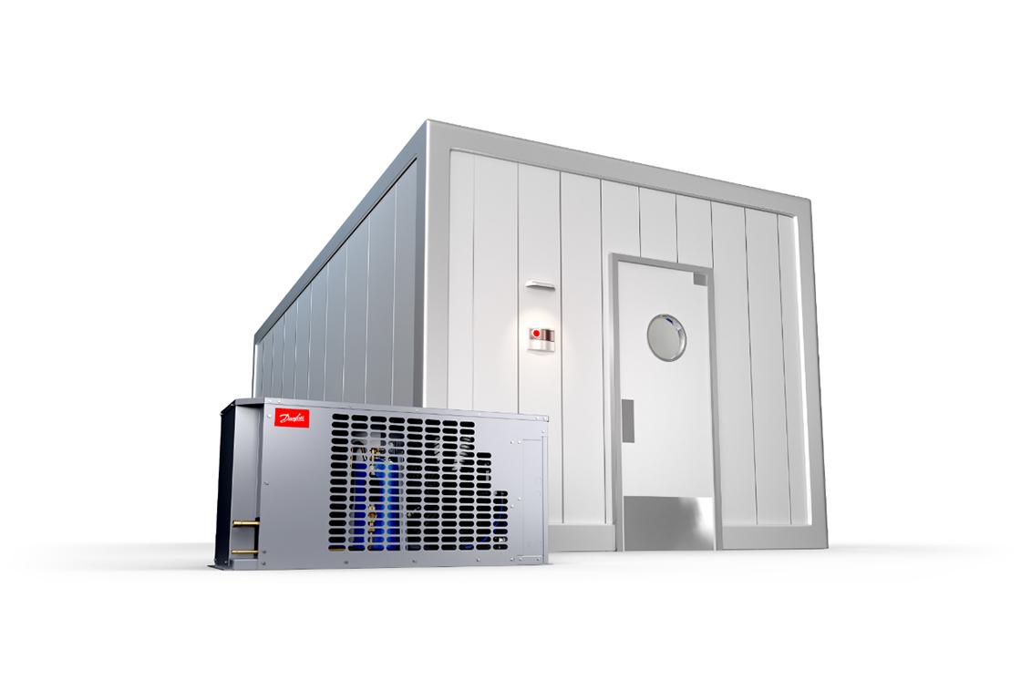 Cámaras frigoríficas - Soluciones de Danfoss para refrigeración comercial