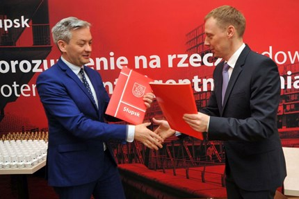 First step towards smart city in Poland