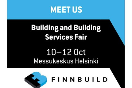 FinnBuild – The International Building and Building Services Fair 10–12 October 2018 Messukeskus, Helsinki