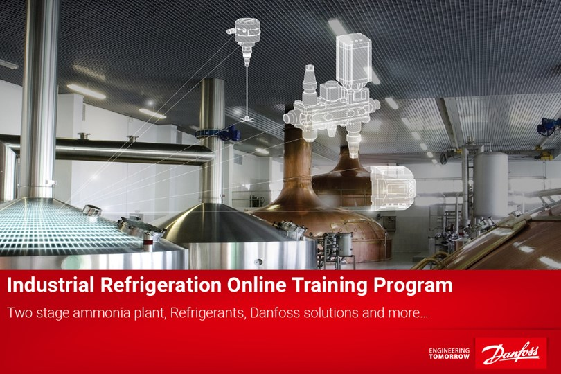 Industrial refrigeration training program - Danfoss Learning