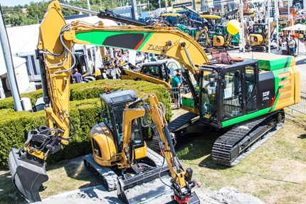 Danfoss electrifying excavators