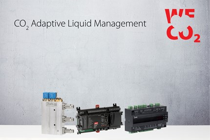 CO₂ Adaptive Liquid Management – New Danfoss solution further improves the efficiency of CO₂ refrigeration in all climates