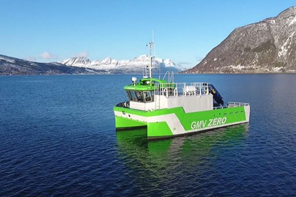 Astrid Helene - fully electric workboat