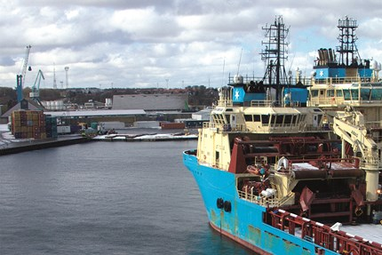Shore power supply is a cost-effective solution for Maersk Supply Service's parked vessels