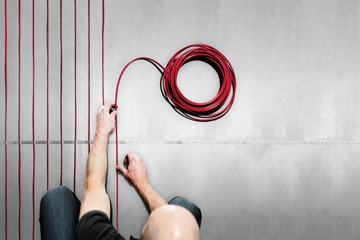 Underfloor Heating Electric Danfoss