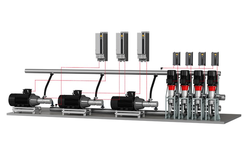 Desalination system by Danfoss