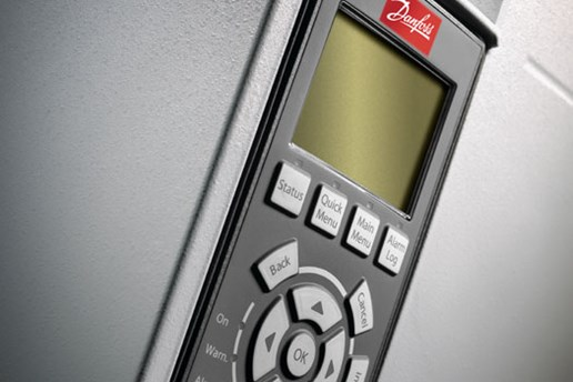Close up photo of a Danfoss VLT drive