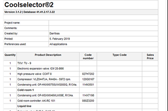Coolselector®2 calculation & selection software | Free download