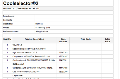Coolselector®2 calculation & selection software | Free