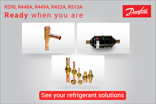 Replacing R404A: we're ready when you are   Danfoss