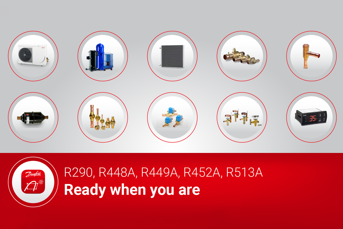 Moving on from R404A: we're ready when you are | Danfoss