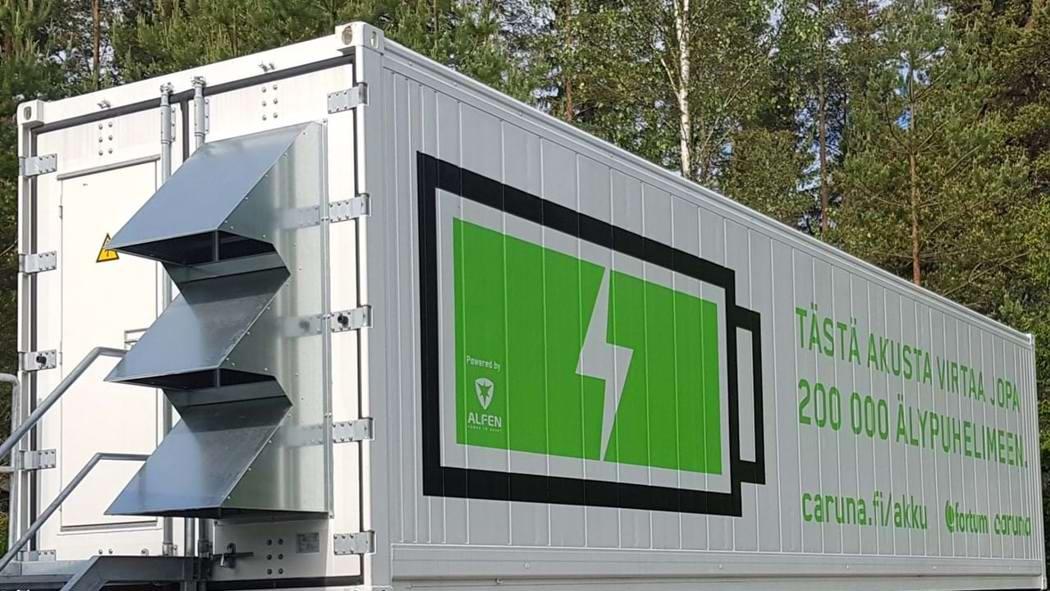 Testování možnosti startu ze tmy z baterie v praxi ve Finsku - Danfoss
