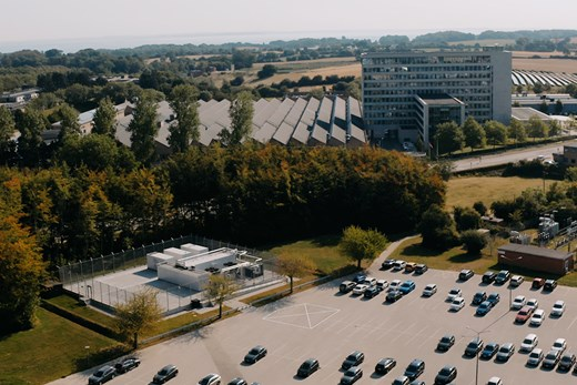 Data center at the headquarters in Nordborg